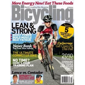 Magazine Subscription to Bicycle Magazine