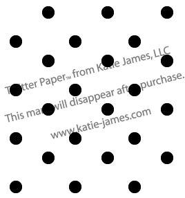 Black and White Polkadot Twitter Background - Click Image to Close